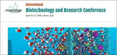 immagine International Biotechnology and Research Conference